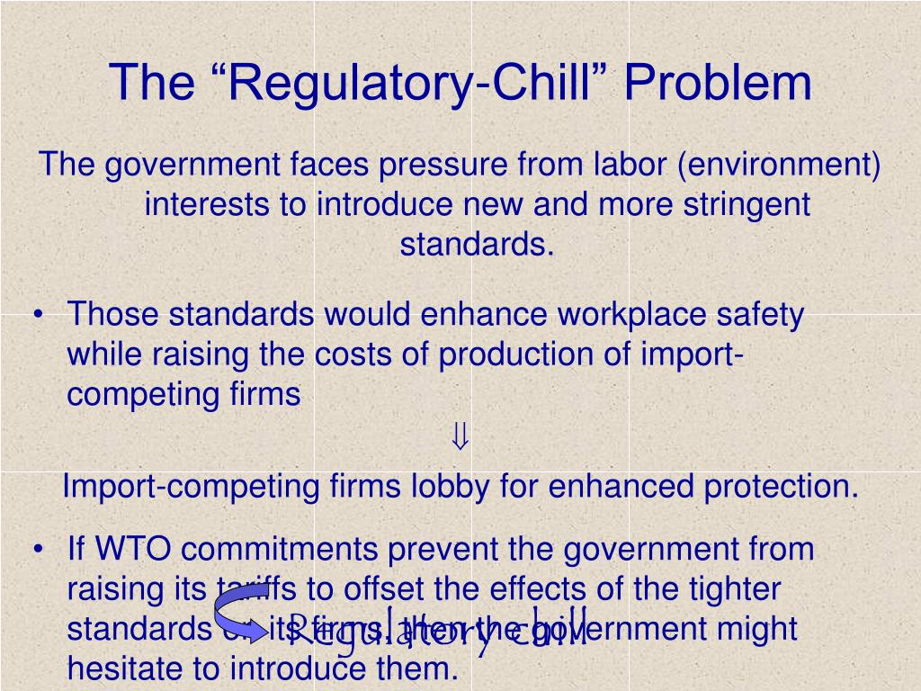 "The ""Regulatory-Chill"" Problem"