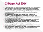 children act 2004