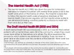 the mental health act 1983