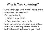 what is card advantage