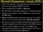 microsoft management console mmc2