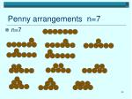 penny arrangements n 7