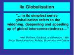 iia globalisation