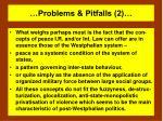 problems pitfalls 2
