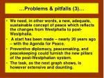 problems pitfalls 3