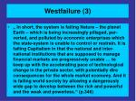 westfailure 3