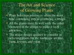 the art and science of growing plants1
