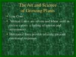 the art and science of growing plants3
