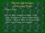 the art and science of growing plants4
