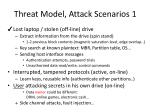 threat model attack scenarios 1