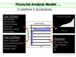 cashflow calculations