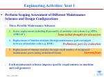 engineering activities year 1