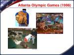 atlanta olympic games 1996