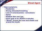 blood agent