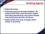 choking agents1