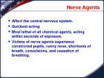 nerve agents1