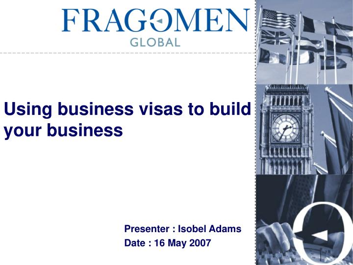 using business visas to build your business n.