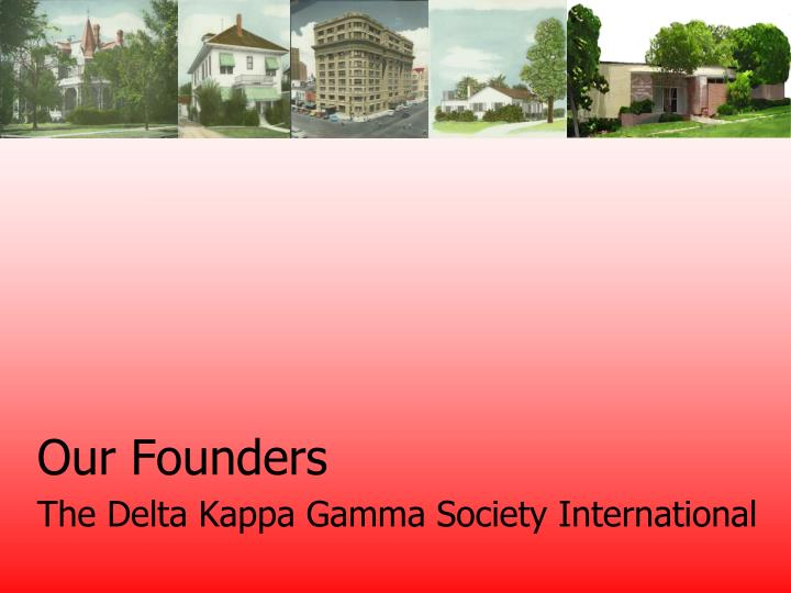 our founders n.