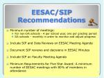 eesac sip recommendations