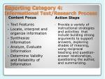 reporting category 4 informational text research process