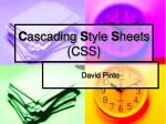 c ascading s tyle s heets css
