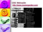 css motivaci n http www csszengarden com1
