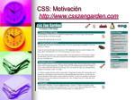 css motivaci n http www csszengarden com4