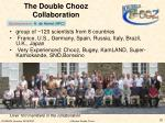 the double chooz collaboration