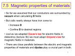 7 5 magnetic properties of materials