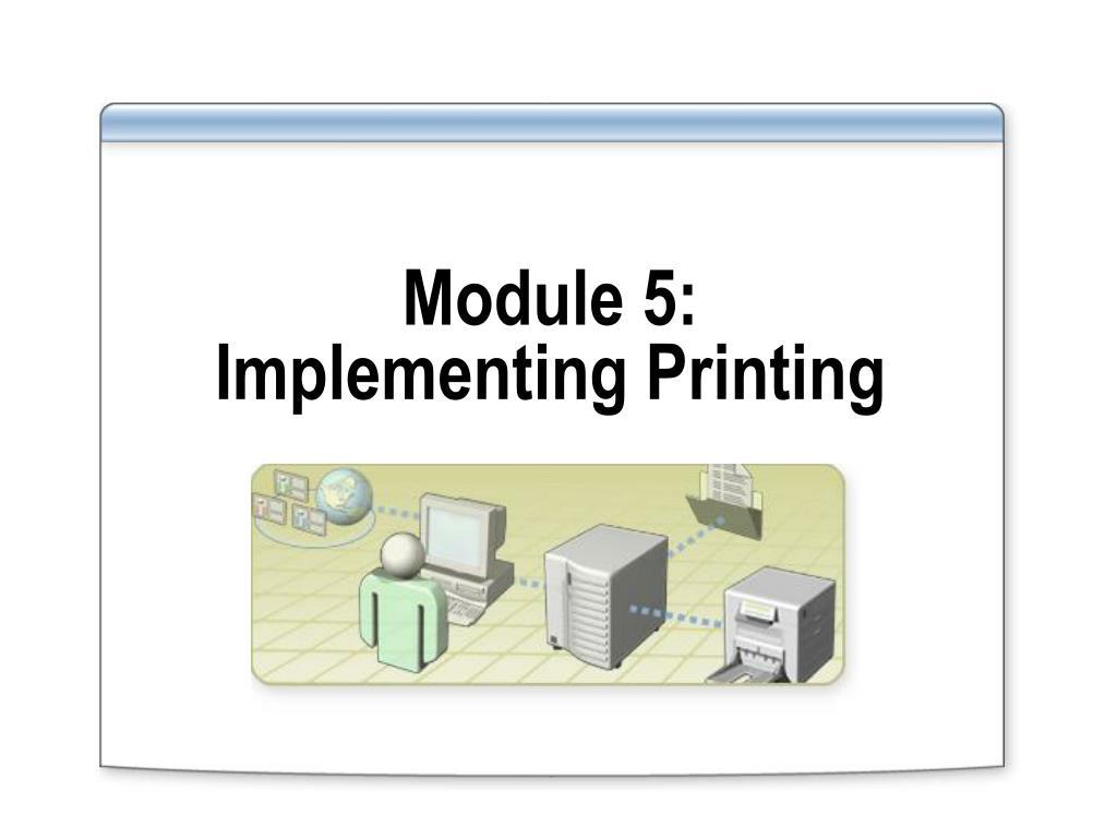 Module 5: