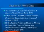 section 13 work cited