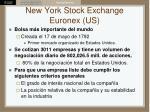 new york stock exchange euronex us