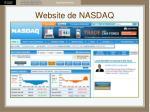 website de nasdaq