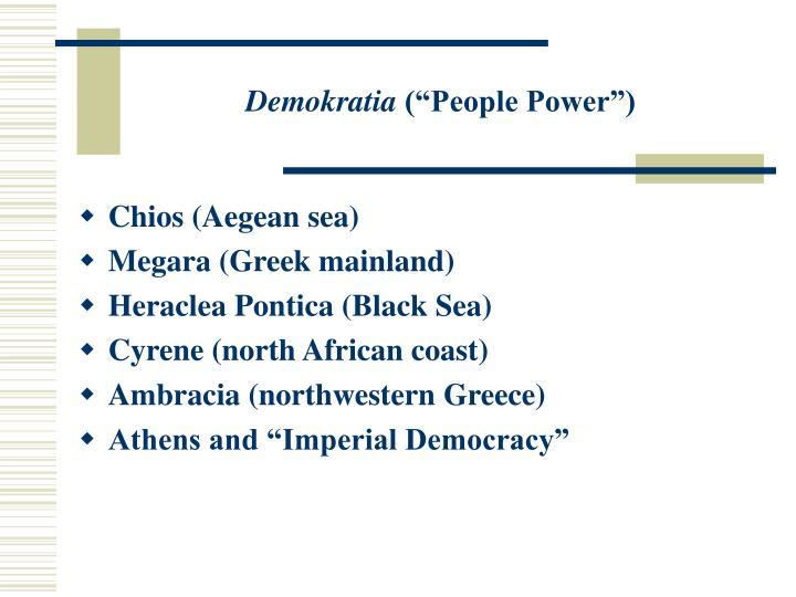 Demokratia people power