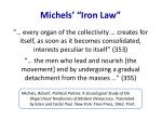 michels iron law