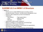 gjxdm 3 0 3 vs niem 1 0 structure