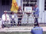 hsp history