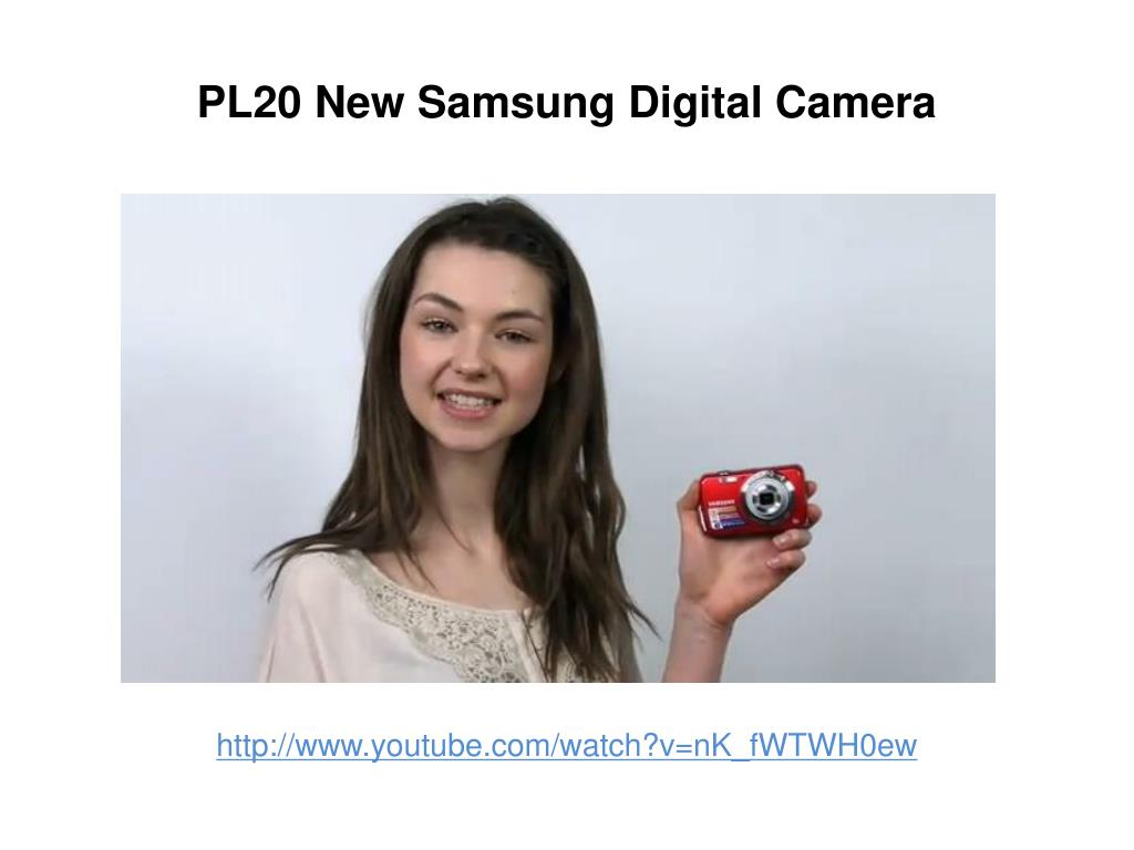 pl20 new samsung digital camera l.