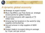 a dynamic global economy