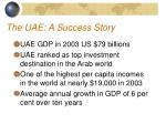 the uae a success story