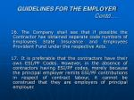 guidelines for the employer contd5