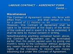 labour contract agreement form contd14