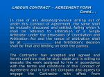 labour contract agreement form contd15