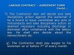 labour contract agreement form contd7