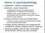 theory in psychopathology5