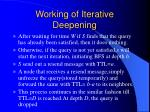 working of iterative deepening1