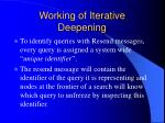 working of iterative deepening2