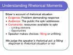 understanding rhetorical moments