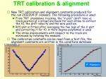 trt calibration alignment