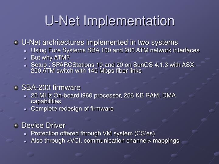 U-Net Implementation